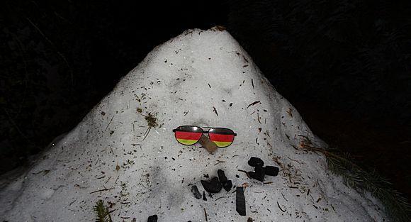 Der Durchhalte-Schneemann