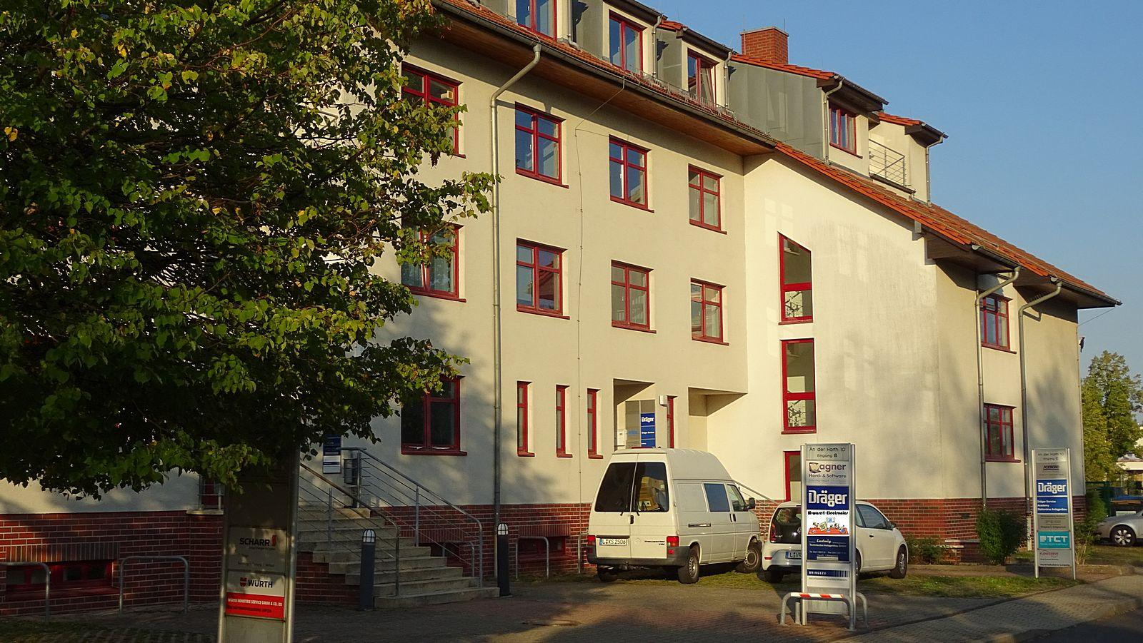 M-ware® Electronics, located in Leipzig-Markkleeberg, An der Harth 10
