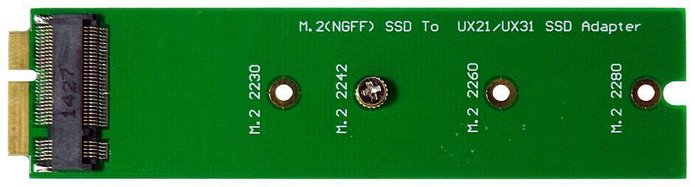 M-ware® Adapter NGFF M.2 HDD zu XM11 für Zenbook UX21 UX31 UX51