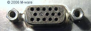Compaq VGA-Buchse mit einem Blindpin