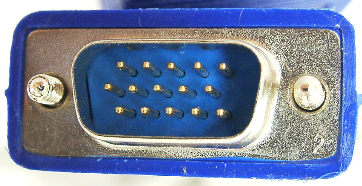 VGA-Stecker 15-polig male