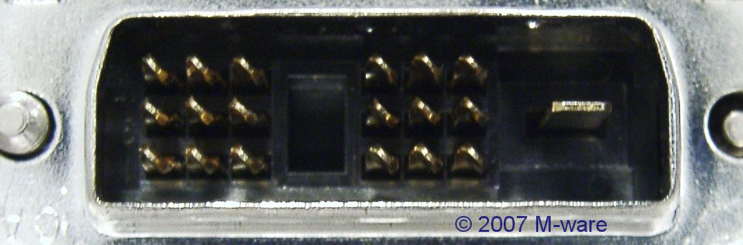 DVi-Stecker male