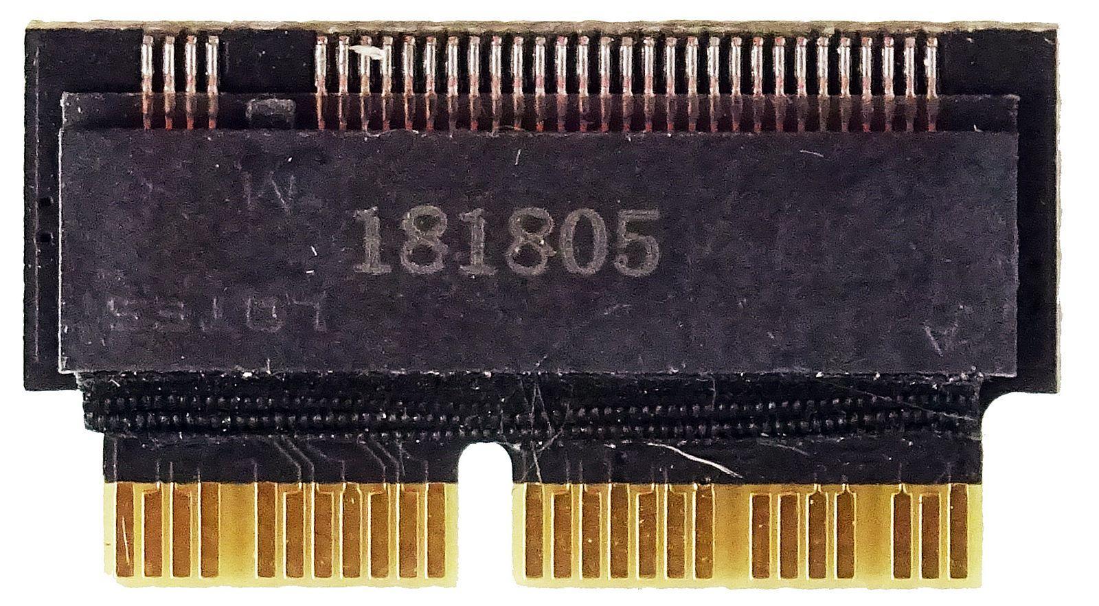 M.2 (NGFF) PCIe SSD Card as 2013 2014 2015 MacBook SSD