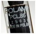 TESTED  good  Vacuum Tube (TV) PCL86 Polam #492