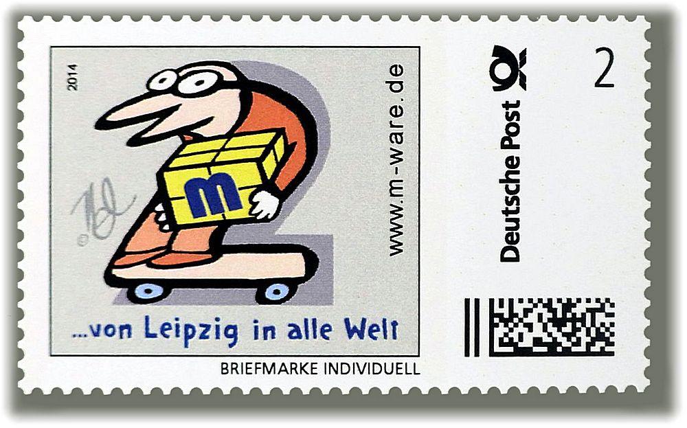 Leipziger Zweier - die 2ct.-Ergänzungsmarke