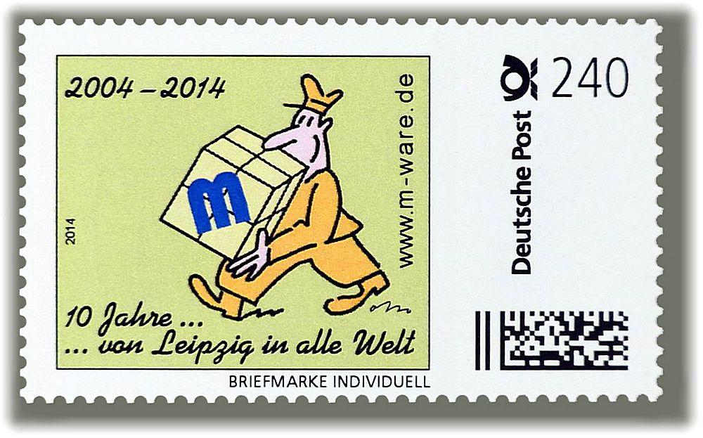 Briefträger: 240ct.-Jubiläumsmarke