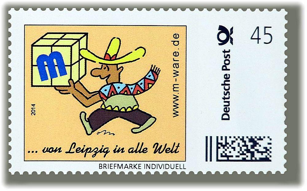 Mexikaner: 45ct.-Marke im Jubiläumsjahr 2014