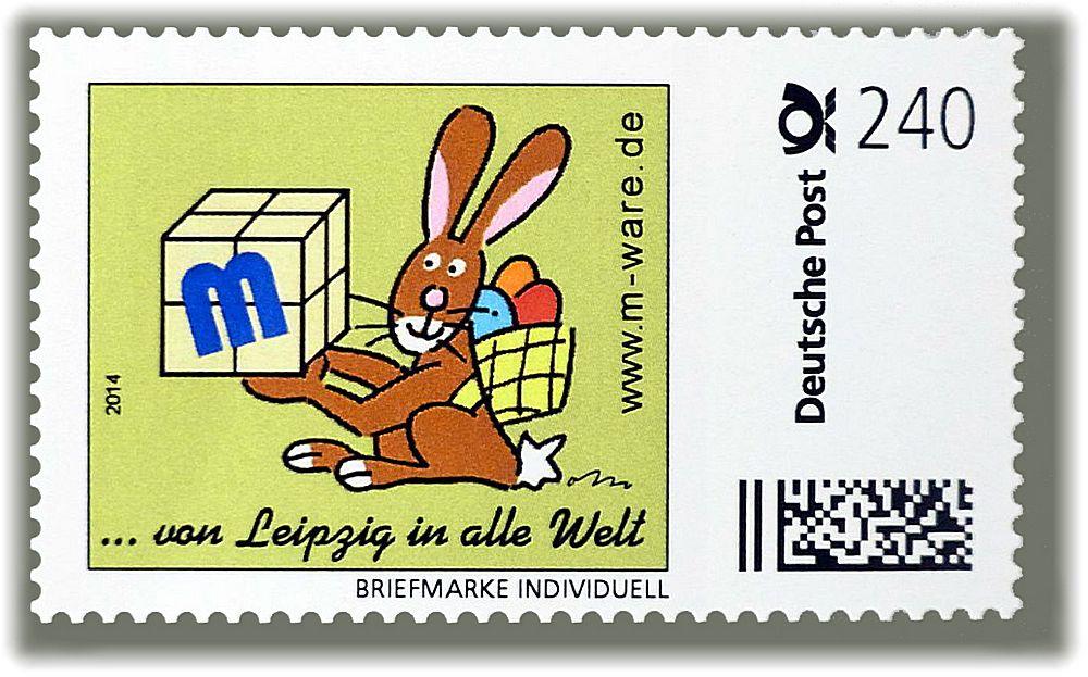 M-ware® Osterbriefmarke 240ct.