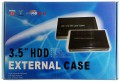 USB2.0 ext. HDD-Case silver 3.5in. IDE HD-0066 #6040