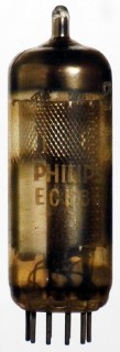 Radio Valve / Vacuum Tube ECH84 Philips #1190