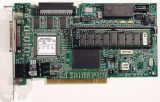 HP NetRAID PCI U160 SCSI P/N D2140-630 #1981