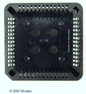 10pcs. IC- socket 52p ic socket 52pin #431