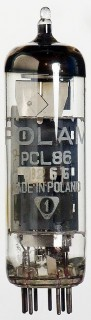 "TESTED ""good"" Vacuum Tube (TV) PCL86 Polam #492"