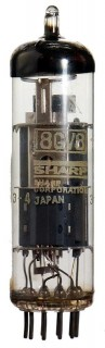 Radio Valve / Vacuum Tube 8GV8 Sharp #578