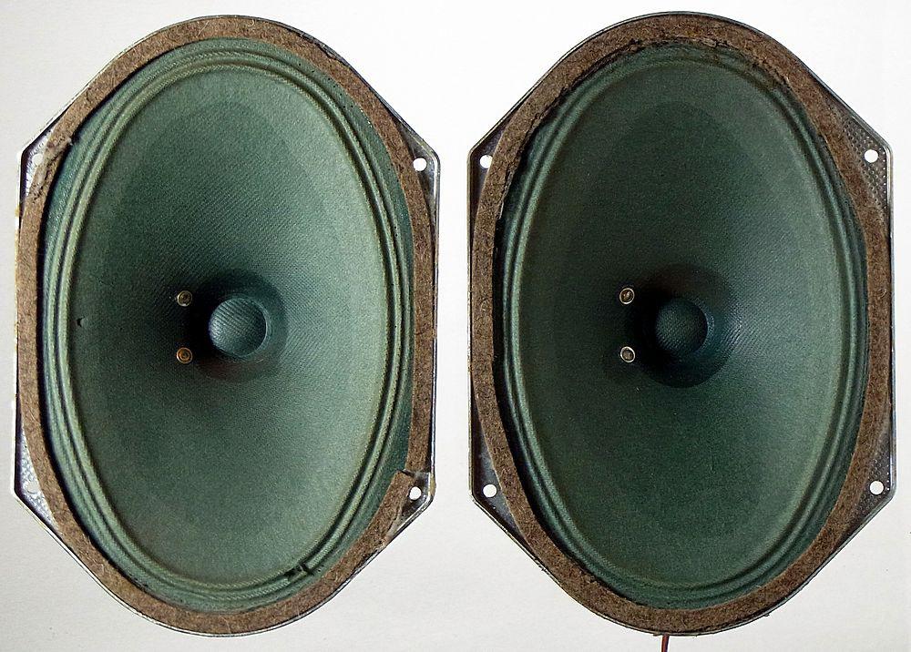 SABA 5ohms greencone speaker