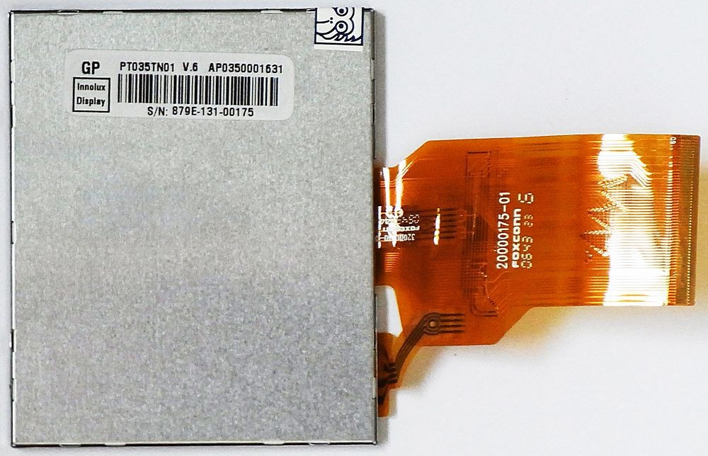 PT035TN01 V.5 Display Innolux Touch LCD Rückseite