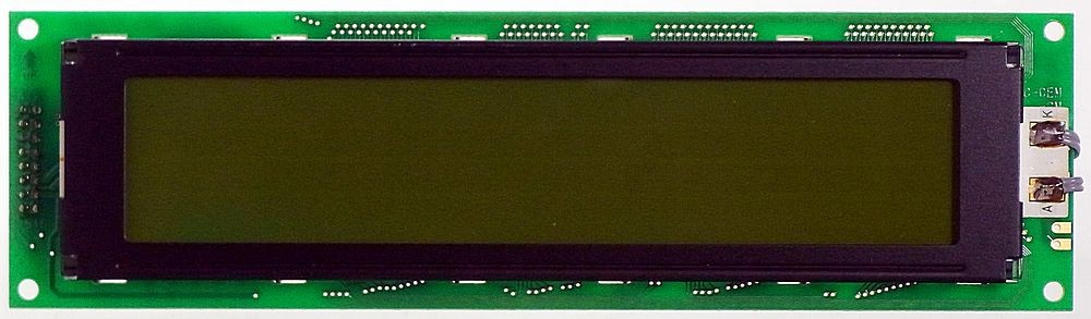 Optrex America Inc DMC40457 LCD Display Modul 40x4
