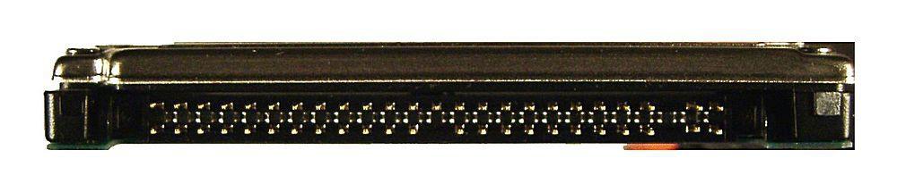 44-poliger Mini-IDE-Anscluss an einer Notebookfestplatte