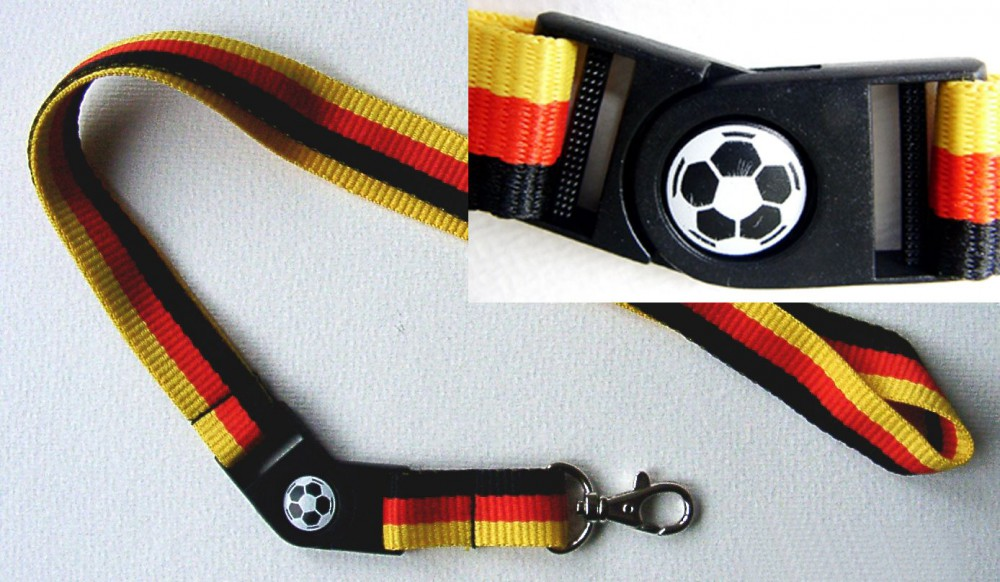Key Lanyard football Germany