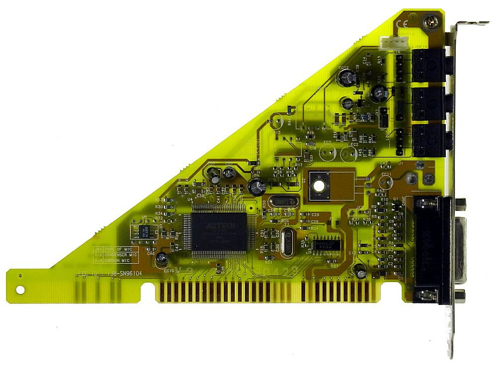 PnP ISA Sound Card MM Pro 16 IIISO BP