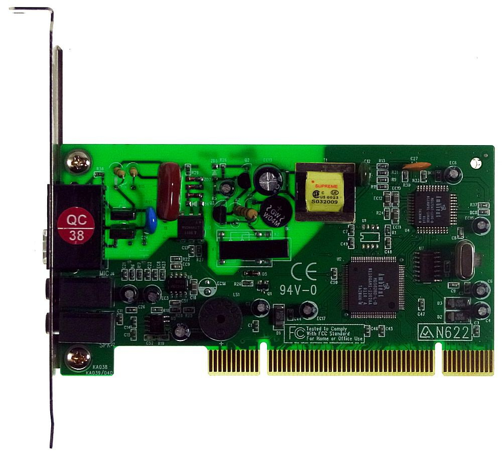 PCI Modem Ambient MD5628D 56k V.90 interna