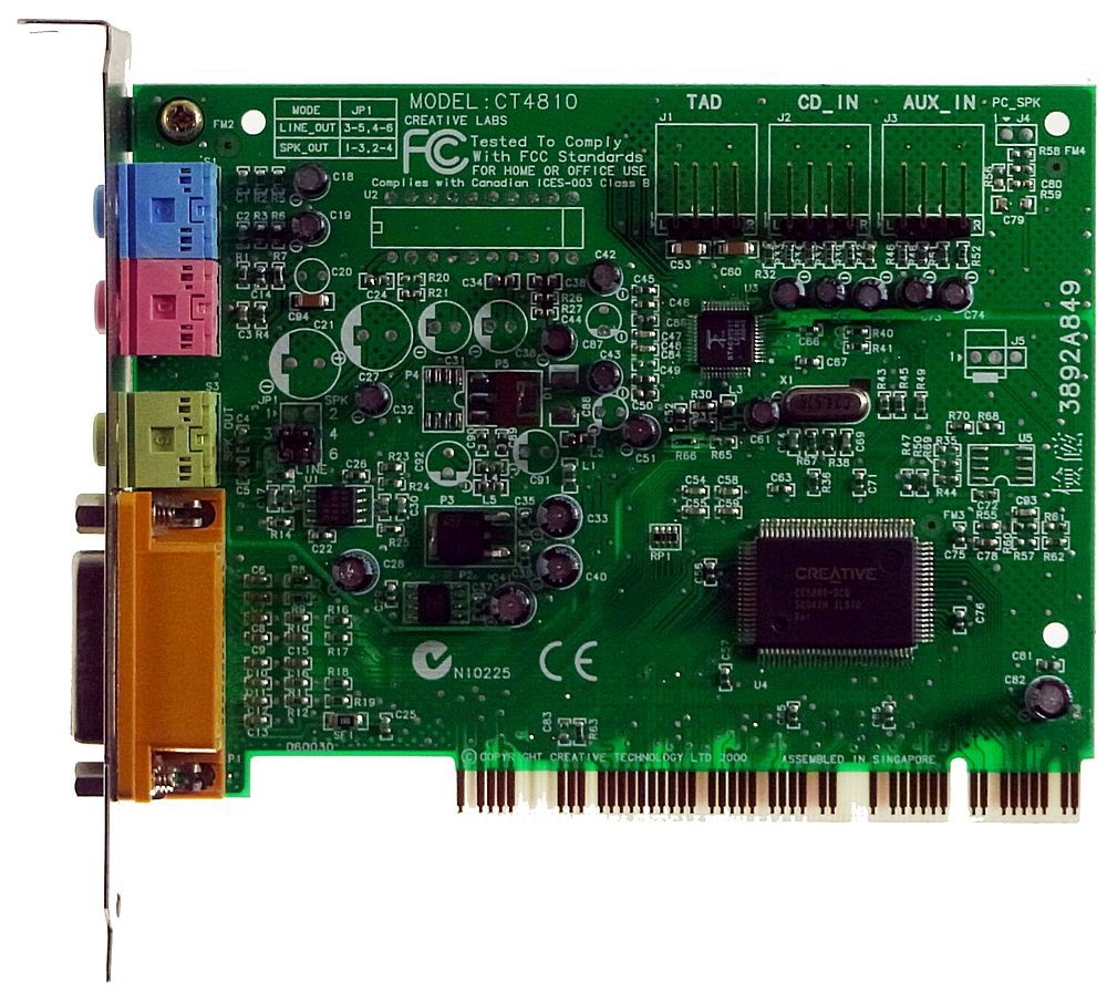 PCI Sound Card Creative SB128 CT4810