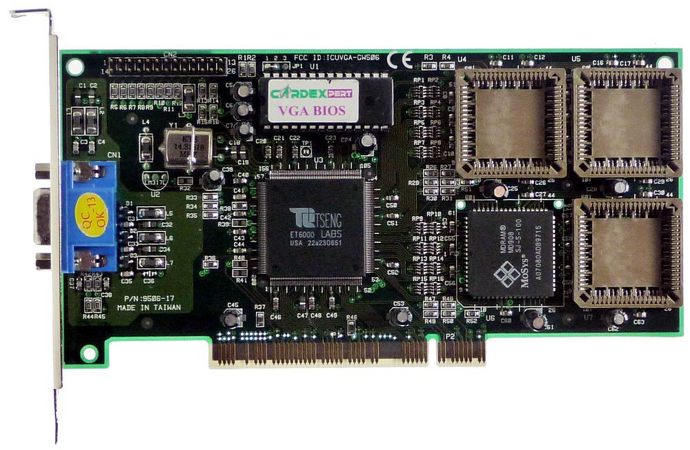 ET6000 Graphics Chipset by Tseng Labs