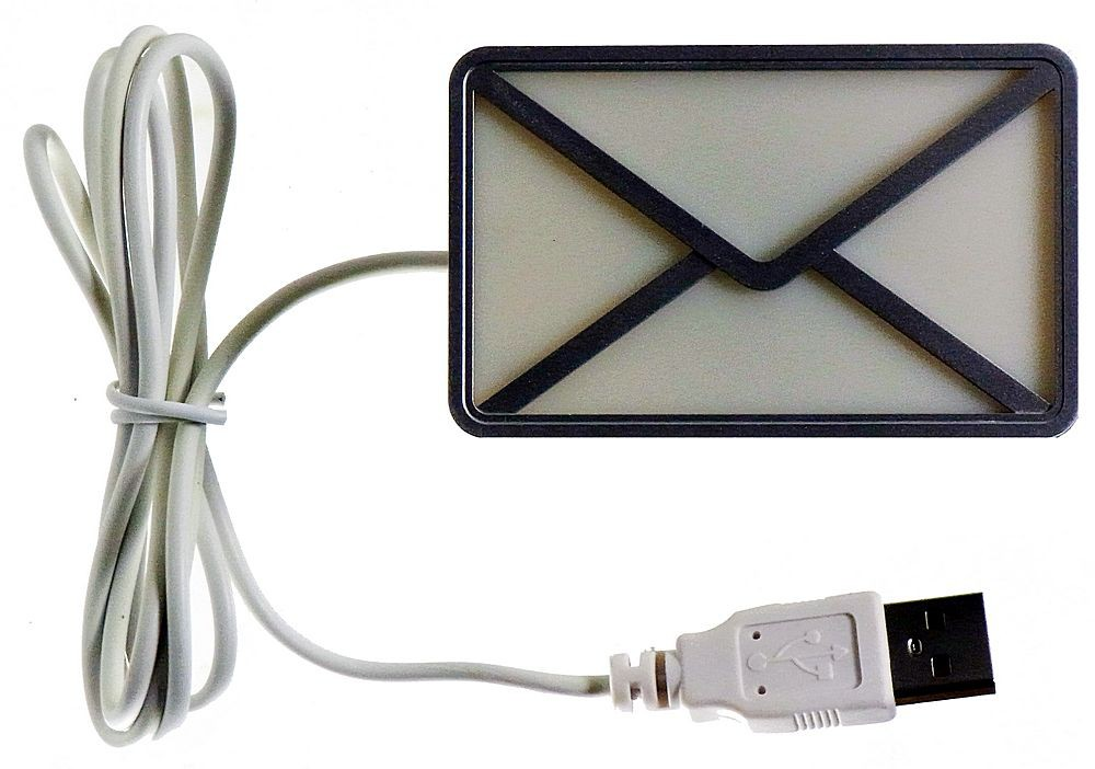 Optical Email Notification USB