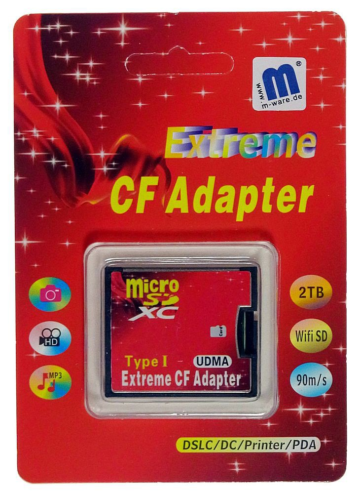 microsd sdhc an cf adapter extreme udma6 wifi sd supp m. Black Bedroom Furniture Sets. Home Design Ideas